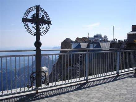 Blick auf die Zugspitze - Zugspitze