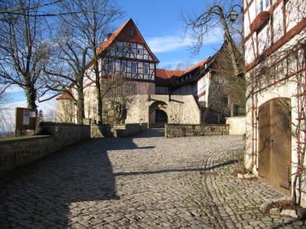 Burg Bodenstein Thüringen - Burg Bodenstein