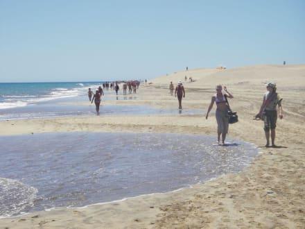 Sand und Meer... - Strand Maspalomas