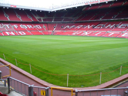im Stadion - Stadion Old Trafford / The Theatre of Dreams