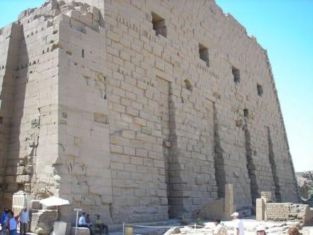 Eingang - Horus Tempel Edfu