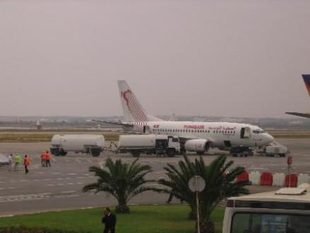 Maschine Tunisair! - Flughafen Monastir (MIR)