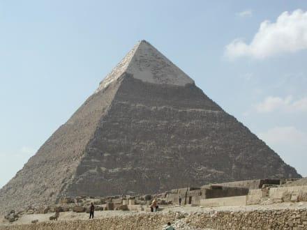Chephrenpyramide - Pyramiden von Gizeh