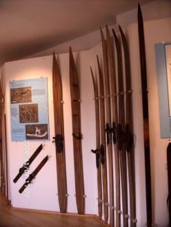 erste norweg. Ski - Kleinmuseum Klösterle