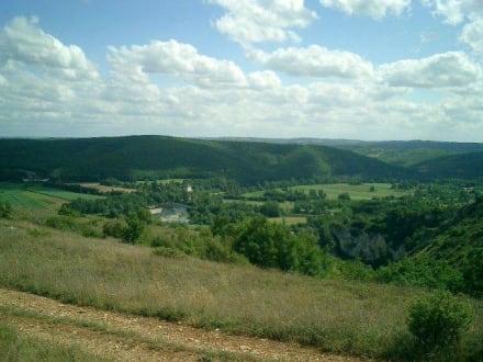 Blick aufs Dordogne-Tal - Tal der Dordogne
