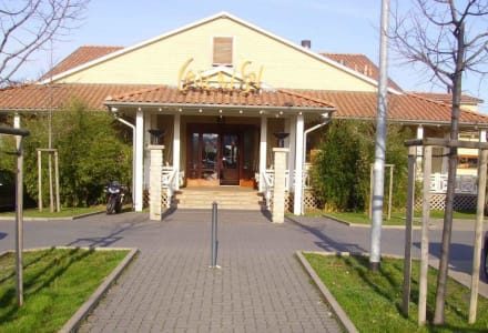 Der Eingang - Restaurant Cafe Del Sol