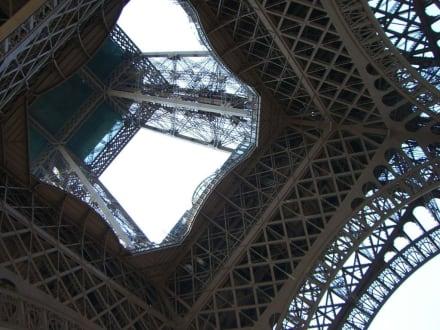 Von unten gesehen... - Eiffelturm