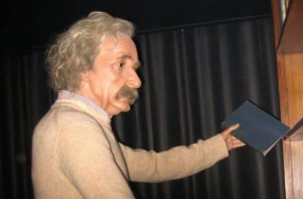 Albert Einstein - Museo de Cera