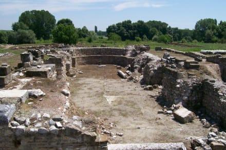 Díon- frühchristliche Basilika - Ausgrabung Dion