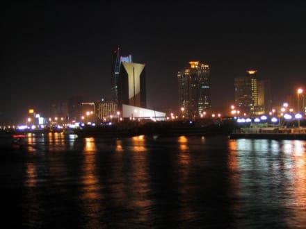 Dubai Stadt - Abendstimmung auf dem Creek - Dubai Creek
