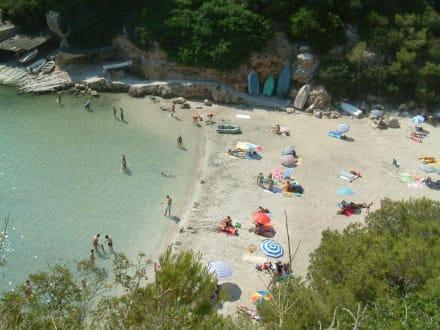 Strand Cala Pi - Bucht von Cala Pi