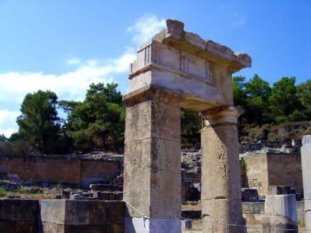 Tempelruinen von Kamiros - Ausgrabung Kamiros Skala