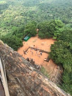 Blick vom Tigerfelsen - Sigiriya Felsen