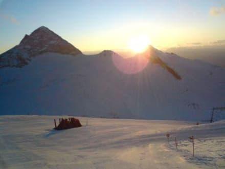 Sonnenaufgang - Hintertuxer Gletscher