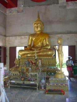 Buddha im Tempel - Inselrundfahrt