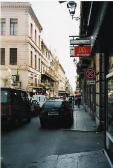 Straße - Altstadt Palermo