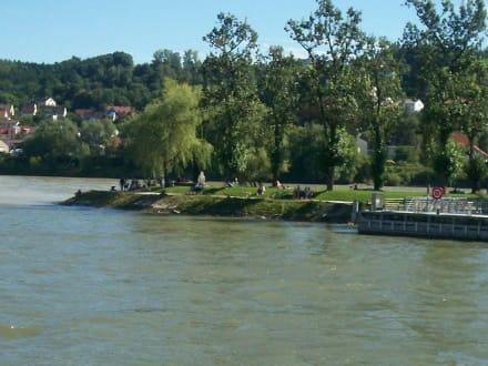 Die Ortspitze Passau - Altstadt Passau