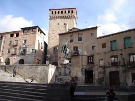 Platz - Altstadt Segovia
