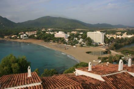 Blick auf die Bucht von Canyamel - Strand Canyamel