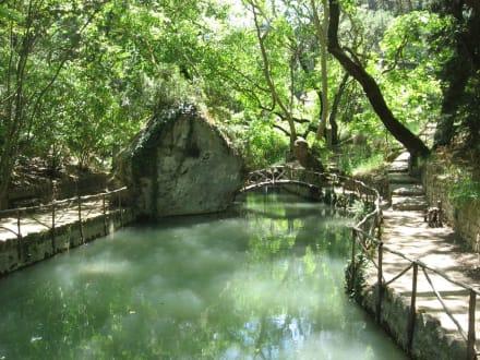 Rodini Park - Rhodini Park in Rhodos Stadt