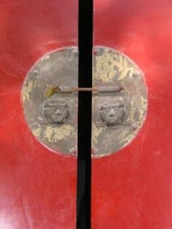 Geheimnisvolle Tür - Shaolin Kloster