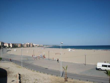 Strand mit Promenade - Strand Torredembarra