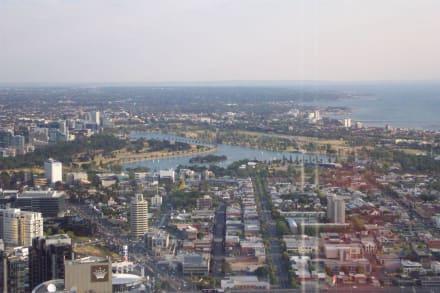 Ausblick vom Observation Deck - Melbourne Observation Deck