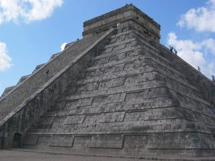 Chichen Itza - Pyramide des Cuculcan - Ruine Chichén Itzá