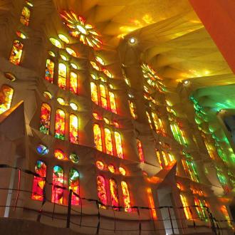 Sagrada Familia Innenansicht - Sagrada Familia