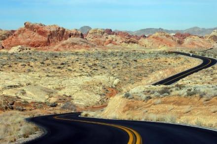 Las Vegas Nationalpark Valley Of Fire Unendliche Weiten - Valley of Fire