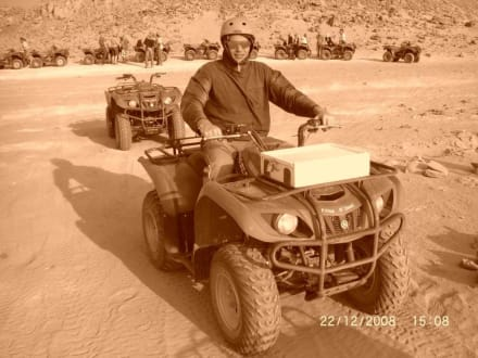 Quad fahrn in der Wüste - Quad Tour El Quseir