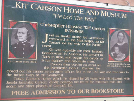 Kit Carson Home and Museum in Taos, New Mexico - Kit Carson Home and Museum