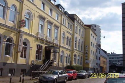 Außenansicht - Novum Hotel Bremer Haus