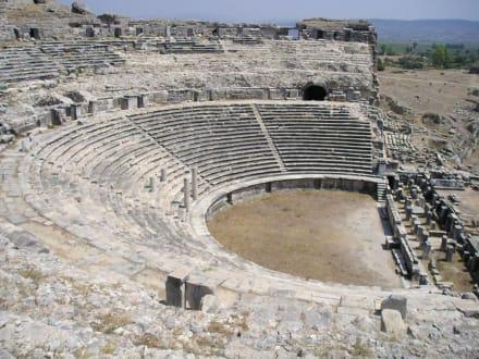 Milet Theater - Ausgrabung Milet