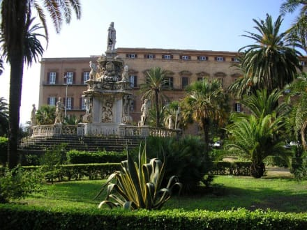 Palazzo Reale in Palermo - Palazzo dei Normanni / Palazzo Reale