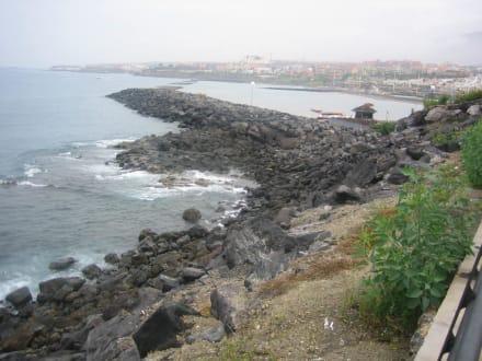 Lavasteine - Strand Playa de las Americas