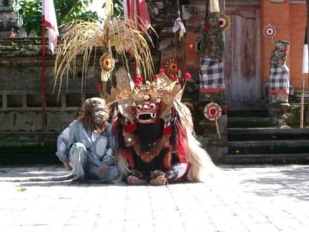 Barong und Hanuman - Barongtanz