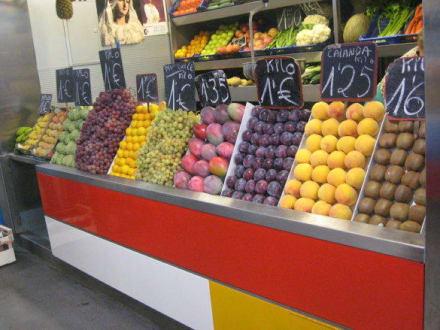 Obst und die Vitaminen - Mercado Central