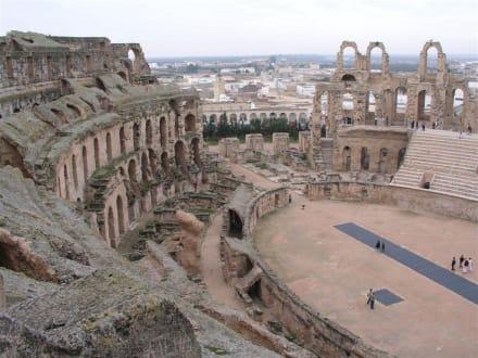 El Djem - Amphitheater