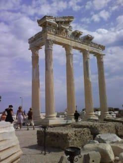 Ruinen von Side - Apollon Tempel