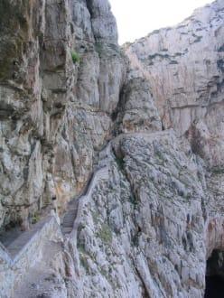 Treppe - Grotta di Nettuno
