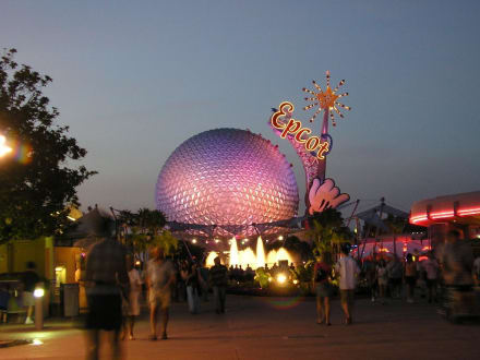 Epcot Center -  World Showcase - Epcot Center