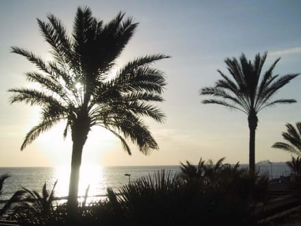 Sonnenuntergang - Shoppingcenter Boulevard El Faro