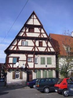 Fachwerkhaus - Altstadt Sindelfingen