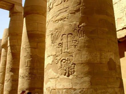 Ausflug in Luxur - Luxor Tempel