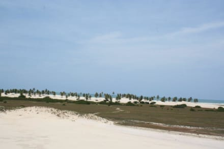 Unterwegs richtung Mangue Seco - Strand Mangue Sêco