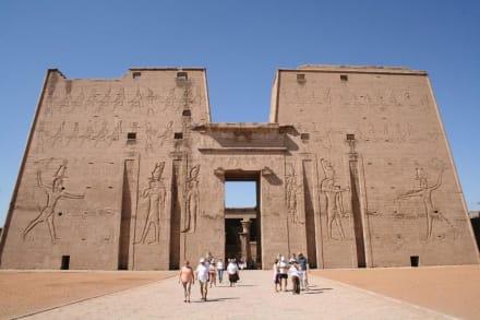 Edfu, Horus-Tempel - Horus Tempel Edfu