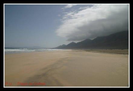 Playa de Cofete - Playa de Cofete