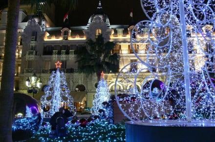 Tolles Lichterspiel - Casino Monte Carlo