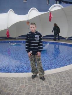 Maurice am Außenpool - Palma Aquarium